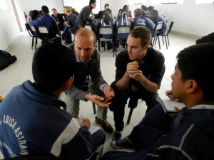Emzingo Fellows hard at work in Peru
