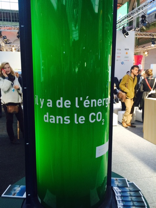 "Low-carbon technologies presented at the ""Solutions COP21"" exposition"