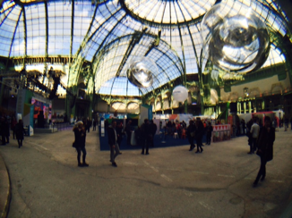"""Solutions COP21"" exhibition at the Grand Palais"